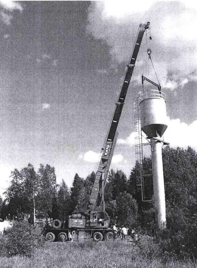 Проект и монтаж водонапорной башни
