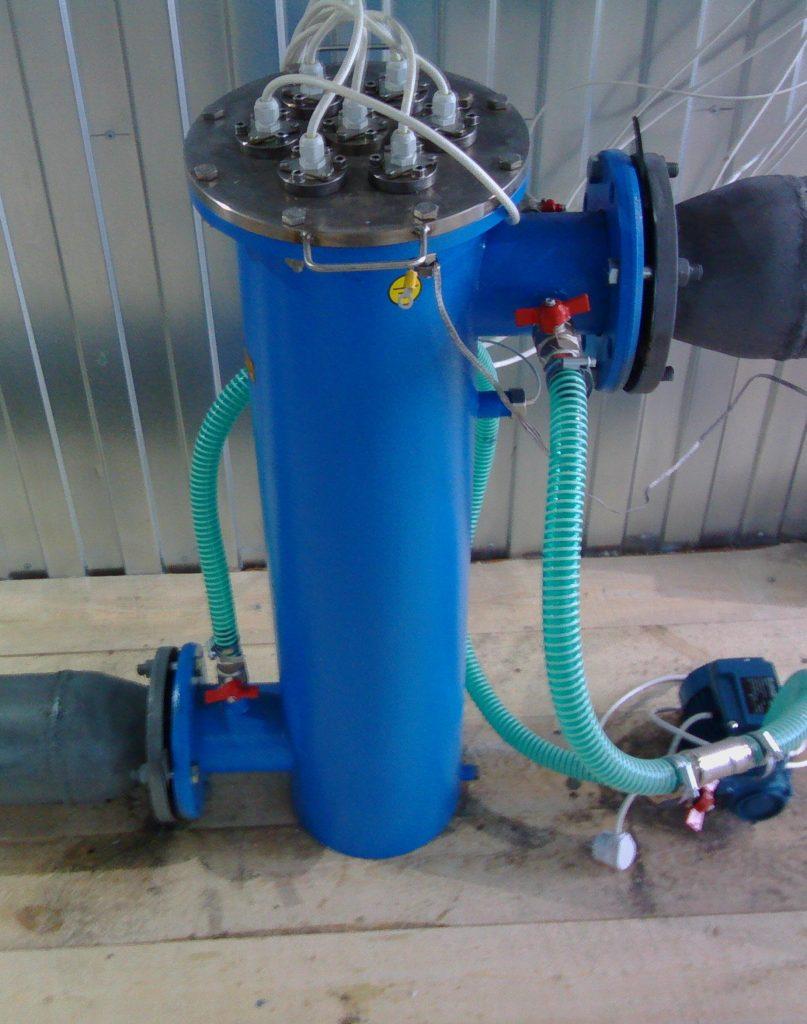 УФ-обеззараживания к системе водоснабжения. Большие Колпаны