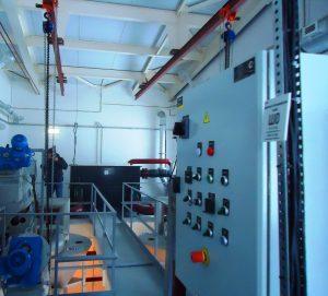 Помещение очистных сооружений хозйственно-бытовых сточных вод д.Большой Двор