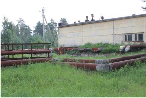 обследование существующей централизованной системы водоотведения, состоящей из КНС и КОС в деревне Коськово
