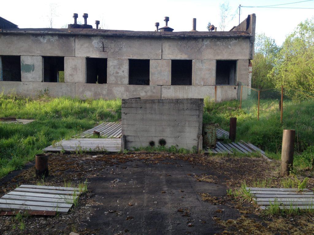 Обследование объектов систем водоотведения. д.Горка