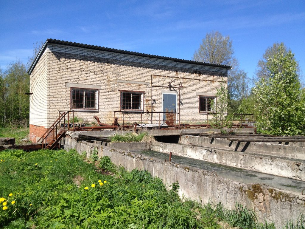 КОС. Системы водоотведения и очистки сточных вод. Обследование в деревне Мелегежская Горка