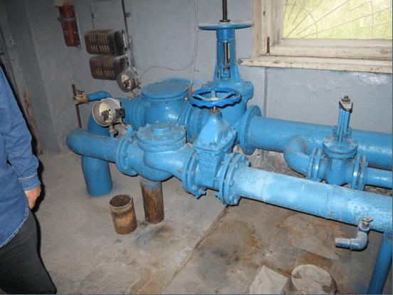 Насосная станция, резервуары чистой воды