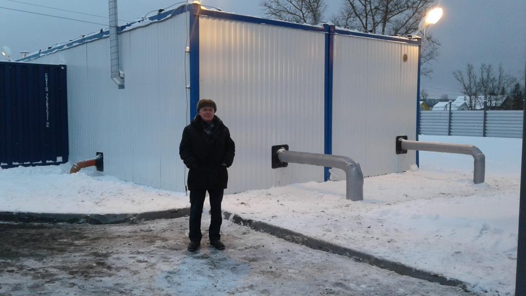Станция водоподготовки. Любань