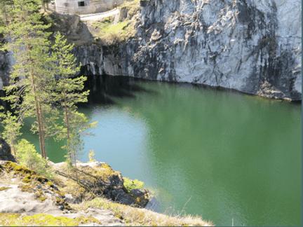 Грунтовый водозабор и магистральный трубопровод п.Рускеала. Карелгосэкспертиза