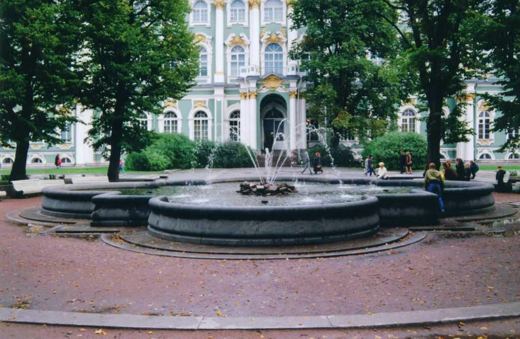Рабочий проект, капитальный ремонт (ремонтно-реставрационные работы) фонтана у Зимнего дворца
