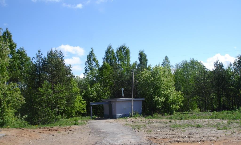 Насосная станция. Реконструкцией системы водоснабжения поселка Рассвет